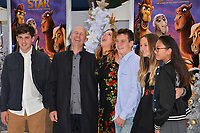 Jennifer Magee-Cook, Stewart Cook &amp; Family at the world premiere for &quot;The Star&quot; at the Regency Village Theatre, Westwood. Los Angeles, USA 12 November  2017<br /> Picture: Paul Smith/Featureflash/SilverHub 0208 004 5359 sales@silverhubmedia.com