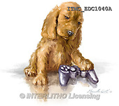 Marcello, REALISTIC ANIMALS, REALISTISCHE TIERE, ANIMALES REALISTICOS, paintings+++++,ITMCEDC1040A,#A# ,dogs,puppies