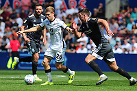 George Byers of Swansea City in action during the Sky Bet Championship match between Swansea City and Birmingham City at the Liberty Stadium in Swansea, Wales, UK. Sunday 25, August 2019
