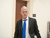 "United States Representative Trey Gowdy (Republican of South Carolina), Chairman, US House Committee on Oversight and Government Reform arrives to ask questions of Lisa Page, legal counsel to former FBI Director Andrew McCabe during ""a transcribed interview"" before the US House Judiciary Committee and US House Committee on Oversight and Government Reform on Capitol Hill in Washington, DC on Friday, July 13, 2018. Page is considered to be a key witness by the committee for her role with Peter Strzok and decisions made by the Department of Justice and the FBI in the months before the 2016 Presidential election.<br /> Credit: Ron Sachs / CNP<br /> (RESTRICTION: NO New York or New Jersey Newspapers or newspapers within a 75 mile radius of New York City)"
