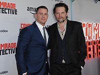 www.acepixs.com<br /> <br /> August 3 2017, LA<br /> <br /> Channing Tatum (L) and Florin Piersic Jr. arriving at the premiere of Amazon's 'Comrade Detective' at the ArcLight Hollywood on August 3, 2017 in Hollywood, California<br /> <br /> By Line: Peter West/ACE Pictures<br /> <br /> <br /> ACE Pictures Inc<br /> Tel: 6467670430<br /> Email: info@acepixs.com<br /> www.acepixs.com