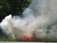 Toyota Camry Car Fire By Jonathan Green