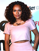 www.acepixs.com<br /> <br /> May 11 2017, New York City<br /> <br /> Janet Mock arriving at the premiere of  'Master Of None' Season 2 premiere at SVA Theatre on May 11, 2017 in New York City.<br /> <br /> By Line: Nancy Rivera/ACE Pictures<br /> <br /> <br /> ACE Pictures Inc<br /> Tel: 6467670430<br /> Email: info@acepixs.com<br /> www.acepixs.com