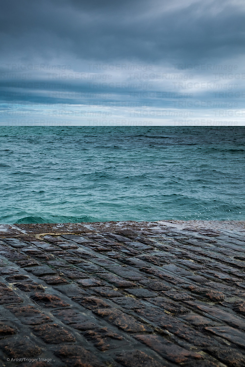 Sea jetty