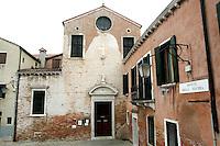 L'esterno della chiesa di San Giacomo dall'Orio, a Venezia.<br /> Exterior of the church of San Giacomo dall'Orio, in Venice.<br /> UPDATE IMAGES PRESS/Riccardo De Luca