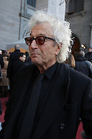 Luc Plamondon<br />  attend the funeral of Rene Angelil, , Friday Jan. 22, 2016 at Notre-Dame Basilica in Montreal, Canada.<br /> <br /> <br /> <br /> <br /> <br /> <br /> <br /> <br /> <br /> <br /> <br /> <br /> <br /> .