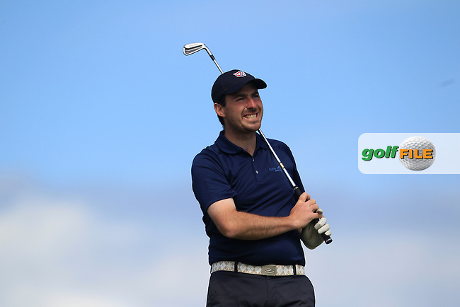 Des Morgan (New Forest) on the 16th tee during Matchplay Round 3 of the South of Ireland Amateur Open Championship at LaHinch Golf Club on Saturday 25th July 2015.<br /> Picture:  Golffile | TJ Caffrey