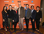 "Ashley Park, Ben McKenzie, Jane Alexander, James Cromwell, Michael Urie, Maulik Pancholy and Priscilla Lopez during the Second Stage Theater presents ""Grand Horizons"" at the Marquis Hotel on December 11, 2019 in New York City."
