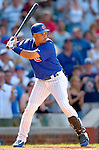 3 July 2005: Aramis Ramirez, All-Star third baseman for the Chicago Cubs, at bat during a game against the Washington Nationals. The Nationals defeated the Cubs 5-4 in 12 innings to sweep the 3-game series at Wrigley Field in Chicago, IL. Mandatory Photo Credit: Ed Wolfstein