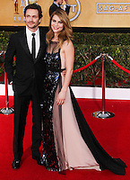LOS ANGELES, CA - JANUARY 18: Hugh Dancy, Claire Danes at the 20th Annual Screen Actors Guild Awards held at The Shrine Auditorium on January 18, 2014 in Los Angeles, California. (Photo by Xavier Collin/Celebrity Monitor)