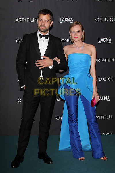 LOS ANGELES, CA - NOVEMBER 7: Joshua Jackson and Diane Kruger at the LACMA Art + Film Gala honoring Alejandro G. I&ntilde;&aacute;rritu and James Turrell and presented by Gucci at LACMA on November 7, 2015 in Los Angeles, California. <br /> CAP/MPI27<br /> &copy;MPI27/Capital Pictures