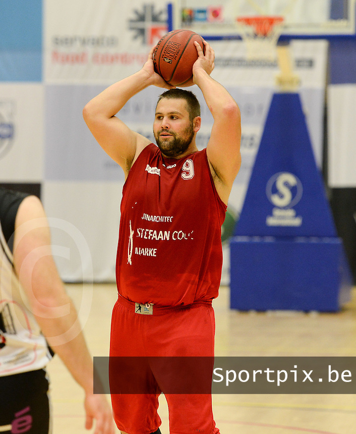 Kortrijk Sport CB : Regis Strebelle<br /> foto VDB / BART VANDENBROUCKE