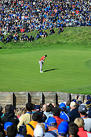 Rory McIlroy (Team Europe) during the Saturday Fourballs at the Ryder Cup, Le Golf National, Paris, France. 29/09/2018.<br /> Picture Phil Inglis / Golffile.ie<br /> <br /> All photo usage must carry mandatory copyright credit (© Golffile | Phil Inglis)