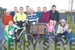 Launching the 2008 Ring of Kerry cycle in the Gleneagle Hotel Killarney on Thursday was l-r: Tim O'Brien, James Looney, Paudie Casey, Garda Ronan Coleman, Killarney Mayor Niall O'Callaghan, Sean Morrissey, Denis Geary, Pat O'Shea, Denis, Niamh Cronin, Sean Scully, Paddy O'Donoghue and Luke Ryan .