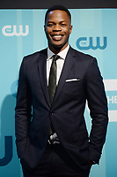 www.acepixs.com<br /> May 18, 2017 New York City<br /> <br /> Sam Adegoke attending arrivals for CW Upfront Presentation in New York City on May 18, 2017.<br /> <br /> Credit: Kristin Callahan/ACE Pictures<br /> <br /> <br /> Tel: 646 769 0430<br /> Email: info@acepixs.com