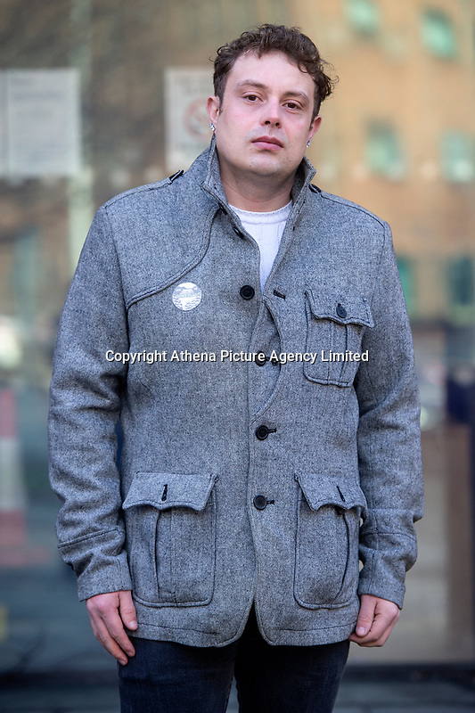 Pictured: Emyr Hughes son of Lord Justice Sir Gary Hickinbottom outside Cardiff magistrates court in Cardiff, Wales, UK. Thursday 13 February 2020<br /> Re: A Chinese restaurant is facing possible closure after complaints about the smells coming from the kitchen by a judge who lives nearby. Lord Justice Sir Gary Hickingbottom, 64, said the aromas from The Summer Palace were wafting into their £525,000 home near Llanfaff Cathedral, Cardiff. The local council has upheld the complaint meaning the restaurant, which has been there for 30 years, is facing court action.