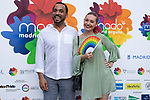 Director for equality Ignacio Sola and Barbara Butragueno during the presentation of the lgtb pride party of Madrid. July 3, 2019. (ALTERPHOTOS/JOHANA HERNANDEZ)