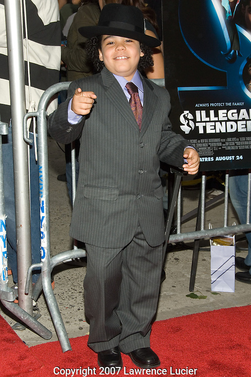 "NEW YORK - AUGUST 20: Actor Antonio Ortiz arrives at the premiere of ""Illegal Tender"" August 20, 2007, at Chelsea West Cinemas in New York City.  (Photo by Lawrence Lucier)"
