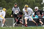 Palos Verdes, CA 04/14/09 -  Zack Henkhaus (PV#12), Jacob Eisenberg (Peninsula #3), Bob Ecker (PV#11), Blake Allman (Peninsula #12)