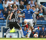 Barrie McKay flying on the wing