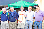 Pictured at the Ballinskelligs Inshore Rescue fund raiser in Cable O'Learys were l-r Des Cronin(Building contractor for the Inshore Boathouse), Joe.C. Keating, Richie Greene(Treasurer), Paddy Casey(Chairman) & Gearo?id King(Training Officer)