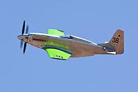 P-51 Mustang Precious Metal in flight