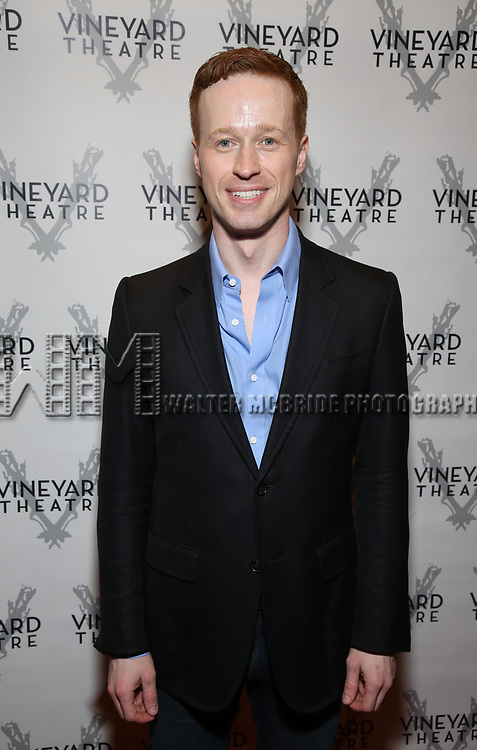 """Cody Lassen attending the Opening Night Performance for The Vineyard Theatre production of  """"Do You Feel Anger?"""" at the Vineyard Theatre on April 2, 2019 in New York City."""