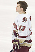Pat Gannon - The Boston College Eagles completed a shutout sweep of the University of Vermont Catamounts on Saturday, January 21, 2006 by defeating Vermont 3-0 at Conte Forum in Chestnut Hill, MA.