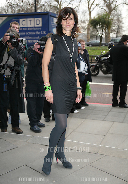 Julia Bradbury  arriving for the Tric Awards 2010, at the Grosvenor House Hotel, London.  09/03/2010   Picture by: Alexandra Glen / Featureflash