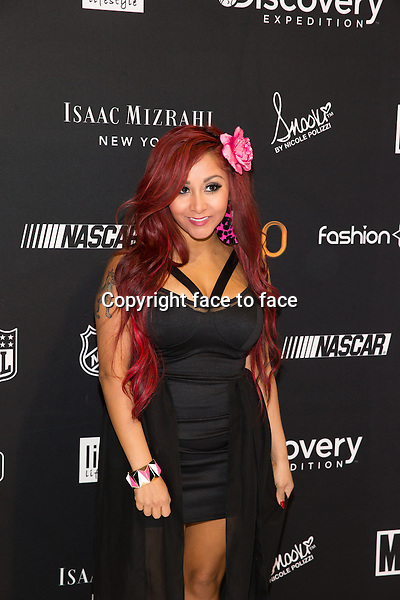 "Nicole ""Snooki"" Polizzi introduces her Snooki Couture line of headphones and electronics at CES Consumer Electronics Show in Las Vegas, Nevada, 09.01.2013...Credit: MediaPunch/face to face..- Germany, Austria, Switzerland, Eastern Europe, Australia, UK, USA, Taiwan, Singapore, China, Malaysia and Thailand rights only -"