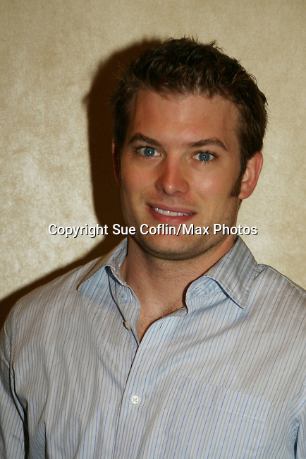 "OLTL's Mark Lawson ""Brody"" at the  One Life To Live Fan Club Luncheon on August 16, 2008 at the New York Marriott Marquis, New York, New York.  (Photo by Sue Coflin/Max Photos)"