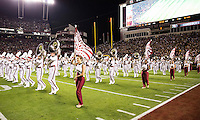 The tenth ranked South Carolina Gamecocks host the 6th ranked Clemson Tigers at Williams-Brice Stadium in Columbia, South Carolina.  USC won 31-17 for their fifth straight win over Clemson.  USC band.