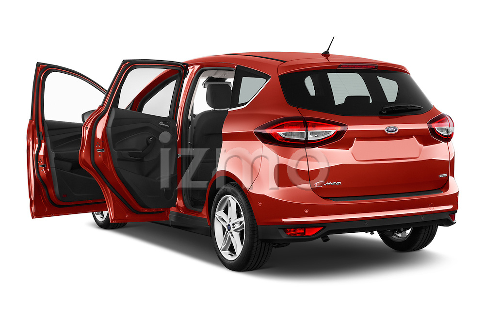 Car images of 2015 Ford C Max Titanium 5 Door Mini Mpv Doors