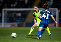 Bolton Wanderers' Ethan Hamilton (left) competing with Rochdale's Luke Matheson <br /> <br /> Photographer Andrew Kearns/CameraSport<br /> <br /> The EFL Sky Bet League One - Rochdale v Bolton Wanderers - Saturday 11th January 2020 - Spotland Stadium - Rochdale<br /> <br /> World Copyright © 2020 CameraSport. All rights reserved. 43 Linden Ave. Countesthorpe. Leicester. England. LE8 5PG - Tel: +44 (0) 116 277 4147 - admin@camerasport.com - www.camerasport.com