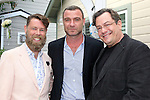 LOS ANGELES - MAY 15: Daniel Henning, Liev Schreiber, Rick Baumgartner at The Actors Fund's Edwin Forrest Day celebration at a private residence on May 15, 2016 in Sherman Oaks, California
