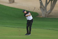 James Morrison (ENG) on the 3rd fairway during Round 1 of the Omega Dubai Desert Classic, Emirates Golf Club, Dubai,  United Arab Emirates. 24/01/2019<br /> Picture: Golffile | Thos Caffrey<br /> <br /> <br /> All photo usage must carry mandatory copyright credit (&copy; Golffile | Thos Caffrey)