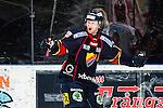 Stockholm 2014-02-24 Ishockey Hockeyallsvenskan Djurg&aring;rdens IF - S&ouml;dert&auml;lje SK :  <br /> Djurg&aring;rdens Michael Holmqvist jublar efter att ha gjort 2-0 f&ouml;r Djurg&aring;rden<br /> (Foto: Kenta J&ouml;nsson) Nyckelord:  jubel gl&auml;dje lycka glad happy