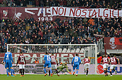 18th March 2018, Stadio Olimpico di Torino, Turin, Italy; Serie A football, Torino versus Fiorentina; Salvatore Sirigu saves the penalty taken by Jordan Veretout