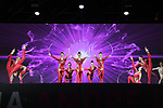 Entertainment on stage at the Teams Presentation held in Piazza Maggiore Bologna before the start of the 2019 Giro d'Italia, Bologna, Italy. 9th May 2019.<br /> Picture: Fabio Ferrari/LaPresse | Cyclefile<br /> <br /> All photos usage must carry mandatory copyright credit (&copy; Cyclefile | Fabio Ferrari/LaPresse)