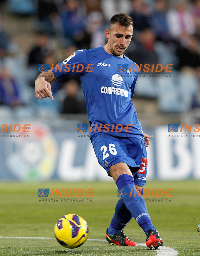 Getafe's Paco Alcocer during La Liga match.November 18,2012. (ALTERPHOTOS/Acero) .Madrid 18/11/2012 .Football Calcio 2012/2013 La Liga.Getafe Vs Valladolid.Foto Insidefoto.ITALY ONLY