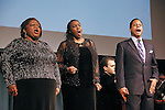 Yvonne Hatchett, Jerly Cunningham, and lawrence Craig, perform at the John Jay Justice Award ceremony, April 5 2011.