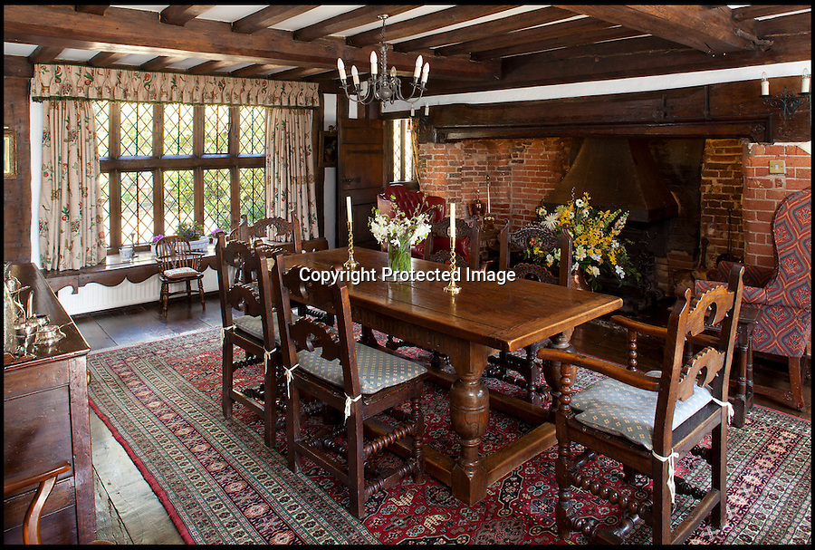 """BNPS.co.uk (01202 558833)<br /> Pic: Savills/BNPS<br /> <br /> For sale...The perfect English timber house...according to architectural guru Nikolaus Pevsner no less.<br /> <br /> A gorgeous 600-year-old timber framed country pile described by architecture guru Nikolaus Pevsner as """"the perfect house"""" has gone on the market for 2.25 million pounds.<br /> <br /> Set in five acres of rolling countryside, Stonehill House is so idyllic it has been home to artists, musicians and writers including Peter Pan author J.M. Barrie and rock star Keith Emerson.<br /> <br /> The plush five-bedroom property in Sussex, which boasts an adjoining cottage and barn, was lauded in Pevsner's 1965 architecture bible Buildings of England.<br /> <br /> Within the 4,344 sq ft house's lavish grounds are a lake, a swimming pool, a tennis court, an orangery, a paddock and extensive landscaped gardens.<br /> <br /> Stonehill House was built in the 15th century as a giant hall, with rooms added during Tudor times.<br /> <br /> The oldest records relating to the house state it was home to a family of iron founders called the Elphicks, and that the once formed part of the vast Sackville estate.<br /> <br /> In more recent times it was home to Scottish author J.M. Barrie who moved in in 1921, around 15 years after he created his most famous character Peter Pan.<br /> <br /> Barrie lived there until 1934, three years before his death.<br /> <br /> The house, which is typical of historic Wealden architecture found in the south east of England, underwent renovation in 1912 and again in 1924.<br /> <br /> It belonged to Keith Emerson, keyboardist with prog rockers Emerson, Lake and Palmer in the 1970s and 1980s."""