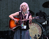 BOCA RATON - JUNE 25: Emmylou Harris performs at the Mizner Park Amphitheatre on June 25, 2017 in Boca Raton, Florida. Photo By Larry Marano © 2017