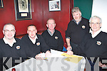 Members of The Meadowlands Hotel Golf Society at the pub quiz they held in aid of The Tralee Alzheimer Society's Rosemary Centre in The Meadowlands Hotel on Friday night  l/r Gerry Redican, Peter O'Driscoll, Maurice Laide, Terry Egan and Tom O'Connor.   Copyright Kerry's Eye 2008
