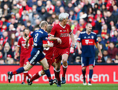 24th March 2018, Anfield, Liverpool, England; LFC Foundation Legends Charity Match 2018, Liverpool Legends versus FC Bayern Legends; Liverpool Legends player-manager Ian Rush waits for a chance during his second half cameo appearance