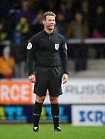 Referee Anthony Backhouse<br /> <br /> Photographer Chris Vaughan/CameraSport<br /> <br /> The EFL Sky Bet League One - Burton Albion v Blackpool - Saturday 16th March 2019 - Pirelli Stadium - Burton upon Trent<br /> <br /> World Copyright &copy; 2019 CameraSport. All rights reserved. 43 Linden Ave. Countesthorpe. Leicester. England. LE8 5PG - Tel: +44 (0) 116 277 4147 - admin@camerasport.com - www.camerasport.com