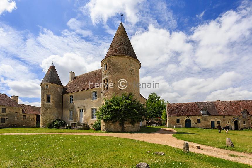 France, Orne (61), Nocé, manoir de Lormarin // France, Orne, Noce, Lormarin manor