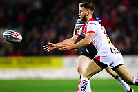 Picture by Alex Whitehead/SWpix.com - 16/03/2018 - Rugby League - Betfred Super League - St Helens v Leeds Rhinos - Totally Wicked Stadium, St Helens, England - St Helens' Danny Richardson.
