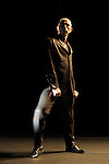NOS IMAGES..Chorégraphie: MONNIER Mathilde, TOUZE Loic..Compagnie : CCN de de Montpellier Languedoc Roussillon..Textes : Tanguy Viel..Costumes : Laurence Alquier..Lumieres : Eric Wurtz..Avec  :..Mathilde Monnier..Loic Touze..Tanguy Viel..Lieu: Theatre de Gennevilliers..Ville : Gennevilliers..le 26/04/2011..© Laurent Paillier / photosdedanse.com..All rights reserved