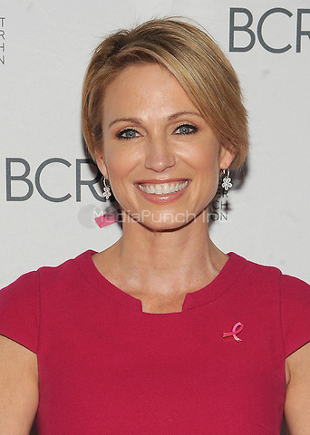 New York, NY- October 9: Amy Robach attends the 2014 Breast Cancer Research Foundation awards luncheon honoring Barbara Walters  at the Waldorf-Astoria on October 9, 2014 in New York City. Credit: John Palmer/MediaPunchNew York, NY- October 9: Amy Robach attends the 2014 Breast Cancer Research Foundation awards luncheon honoring Barbara Walters  at the Waldorf-Astoria on October 9, 2014 in New York City. Credit: John Palmer/MediaPunch